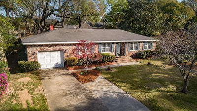 Charleston Single Family Home For Sale: 1754 Houghton Drive
