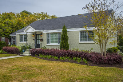 Charleston Single Family Home Contingent: 812 Sheldon Road