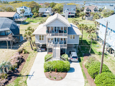 Folly Beach Single Family Home For Sale: 1508 E Ashley Avenue