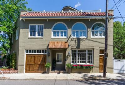 Single Family Home For Sale: 168 Tradd Street