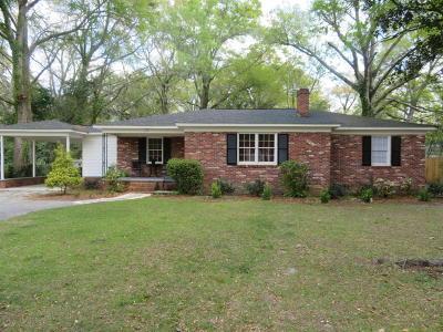 Walterboro Single Family Home For Sale: 112 Tracy Street