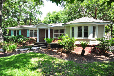 Isle Of Palms Single Family Home Contingent: 3607 Hartnett Boulevard