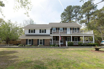 Charleston Single Family Home For Sale: 1537 Hutton Place