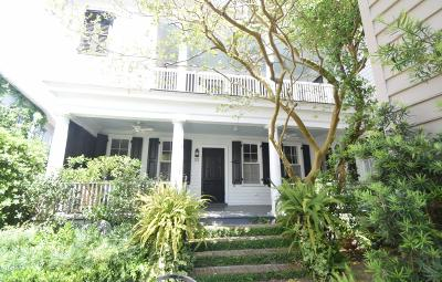 Charleston Single Family Home For Sale: 20 Water Street