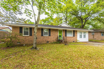 Charleston Single Family Home For Sale: 759 Cartwright Drive