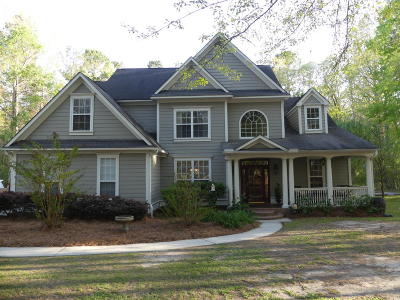 Moncks Corner Single Family Home Contingent: 167 Deer Track Lane