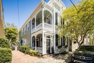 Charleston Single Family Home For Sale: 9 Savage Street
