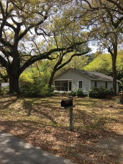 Mount Pleasant Single Family Home Contingent: 1329 Lieben Road