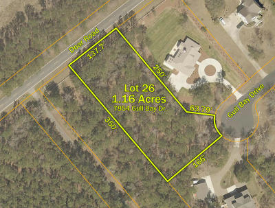 Awendaw Residential Lots & Land For Sale: 7854 Gull Bay Drive