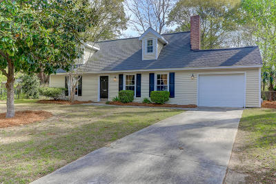 Mount Pleasant Single Family Home For Sale: 1610 Pinebrook Court