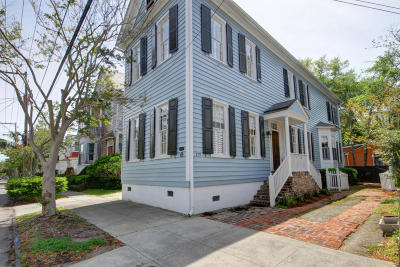 Charleston Single Family Home For Sale: 179 Wentworth Street