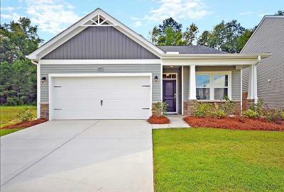 Moncks Corner Single Family Home For Sale: 449 Brookgreen