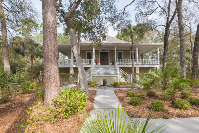 Johns Island Single Family Home For Sale: 2824 Old Drake Drive