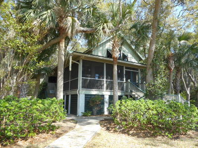 Edisto Island Single Family Home For Sale: 2145 Bailey Island Lane