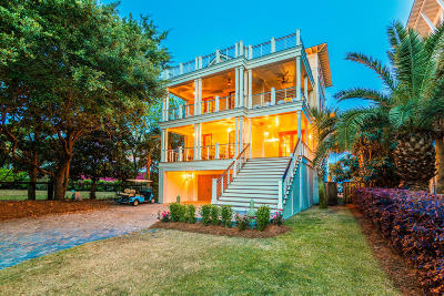 Isle Of Palms Single Family Home For Sale: 302 Carolina Boulevard