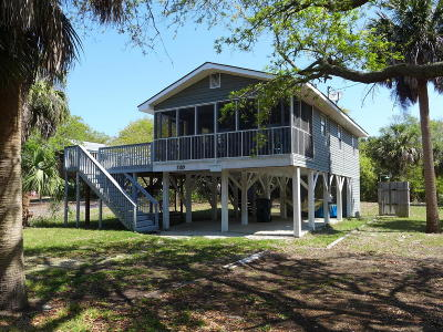 Edisto Beach Single Family Home For Sale: 3109 Myrtle Street