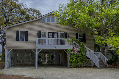 Edisto Island SC Single Family Home Contingent: $429,000