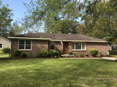 Johns Island Single Family Home For Sale: 1958 Gasque Street