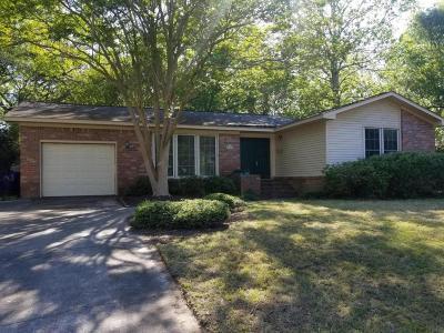 Mount Pleasant Single Family Home For Sale: 1424 Glencoe Drive