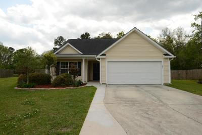 Goose Creek Single Family Home Contingent: 209 Turner Greens Court