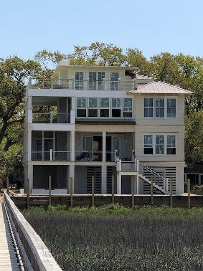Isle Of Palms Single Family Home For Sale: 7 Whispering Palms