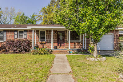 Charleston Single Family Home Contingent: 783 Jim Isle Drive