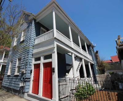 Charleston Single Family Home Contingent: 254 Coming Street #A&B