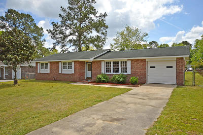 North Charleston Single Family Home Contingent: 7659 Linsley Dr