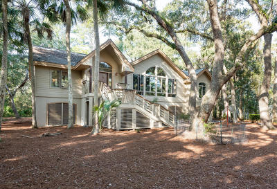 Seabrook Island Single Family Home For Sale: 2652 Seabrook Island Road
