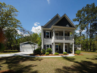 Johns Island Single Family Home For Sale: 3272 Comsee Lane