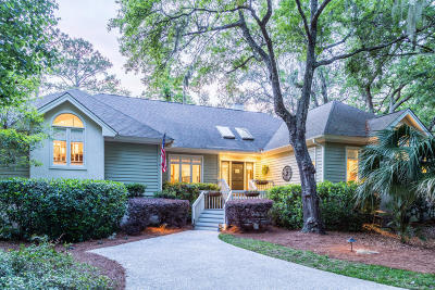 Seabrook Island Single Family Home Contingent: 2420 Golf Oak Park