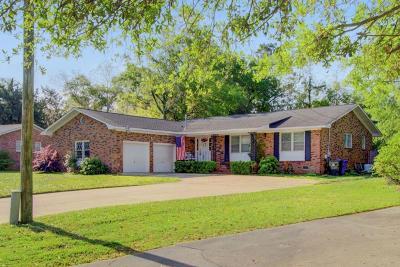 Charleston Single Family Home For Sale: 1251 Oakcrest Drive