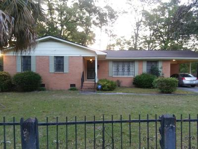 Walterboro Single Family Home Contingent: 216 Ackerman Street