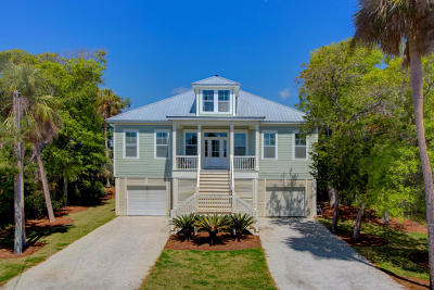 Edisto Island SC Single Family Home For Sale: $749,000