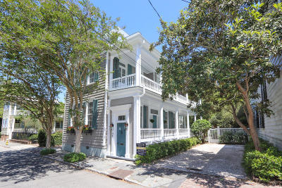 Charleston Single Family Home For Sale: 44 Legare Street