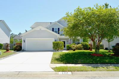 Ladson Single Family Home For Sale: 107 Graduate Lane