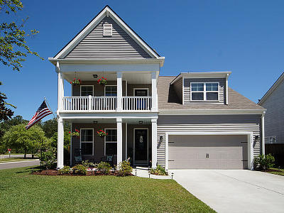 Moncks Corner Single Family Home For Sale: 300 Sabal Palmetto Court
