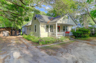 Charleston Single Family Home For Sale: 442 Woodland Shores Road