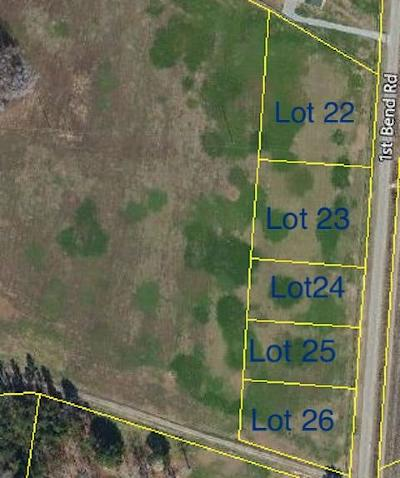 Residential Lots & Land For Sale: First Bend Road
