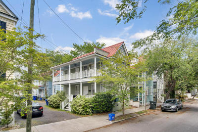 Charleston Single Family Home For Sale: 18 Duncan Street #A