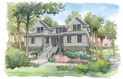 Seabrook Island Single Family Home For Sale: 2463 High Hammock Road