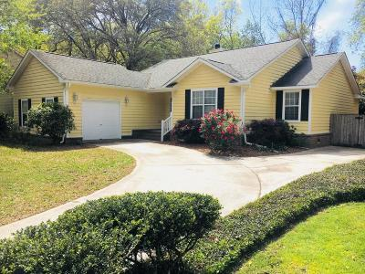 Charleston Single Family Home For Sale: 1492 Kentwood Circle