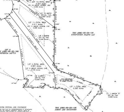 Residential Lots & Land For Sale: 538 Lot 1 Towles Crossing Drive
