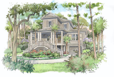 Seabrook Island Single Family Home For Sale: 2262 Oyster Catcher Court