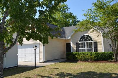 Johns Island Single Family Home For Sale: 2814 Summertrees Boulevard