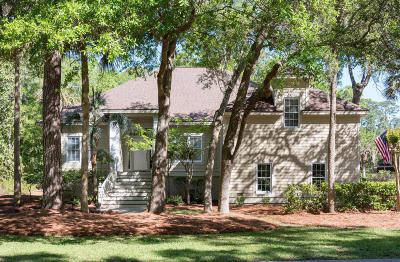 Seabrook Island Single Family Home For Sale: 2945 Seabrook Island Road