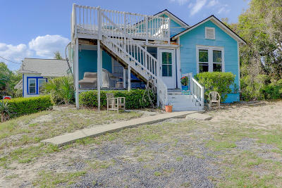 Folly Beach SC Single Family Home For Sale: $900,000