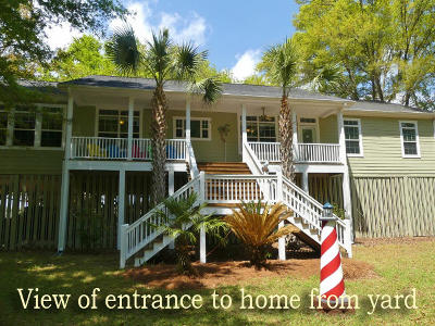 Edisto Island SC Single Family Home For Sale: $429,000