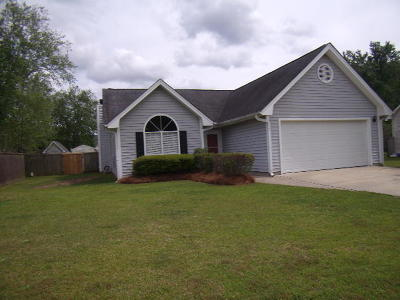Summerville SC Single Family Home For Sale: $176,500