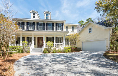 Seabrook Island Single Family Home For Sale: 2482 High Hammock Road